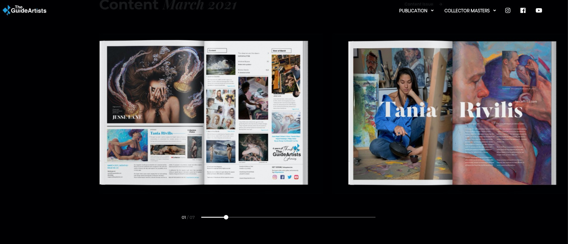 tania rivilis interview the guide artists magazine
